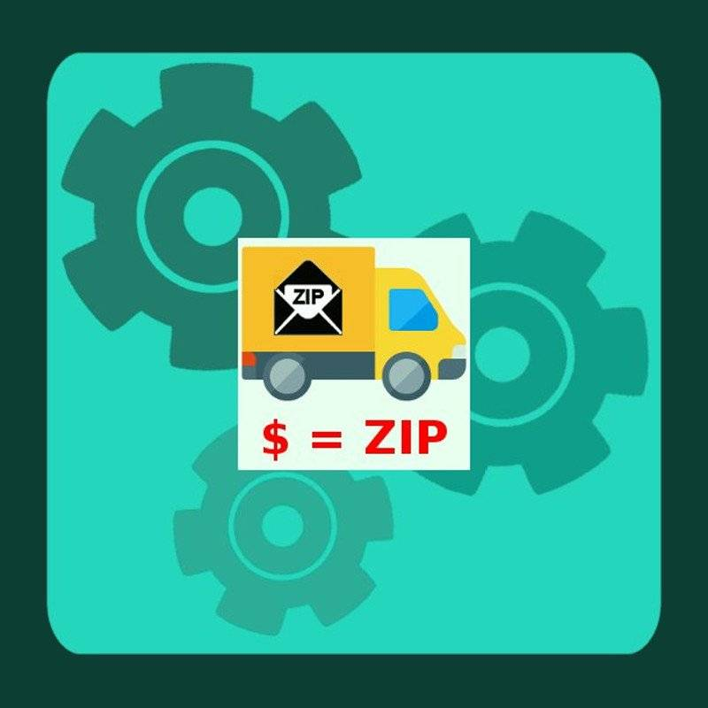 "Module PrestaShop ""Zip code shipping rates"""